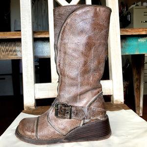 Free People Scarpe Diem 1011 Kabul Leather Boot